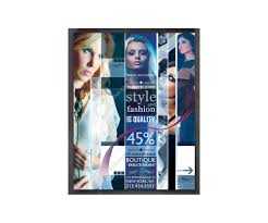 Magazine Cover Page Template Psd by Modern Fashion Flyer U2013 Collage Template Creative Poster Design