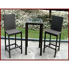 Patio Bar Height Table And Chairs Bar Height Bistro Table Shellecaldwell