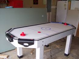 Air Hockey Table Dimensions by File Air Hockey Table With Puck And Paddles Jpg Wikimedia Commons