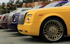 roll royce purple download wallpaper rolls royce phantom yellow purple free
