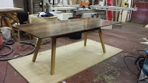 12 Seater Oak Dining Table Walnut Dining Table Tortie Hoare Furniture