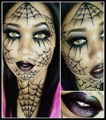 dramatic spider web makeup tutorial youtube