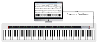 piano keyboard with light up keys home learn to play the piano with the pianomaestro usb learning