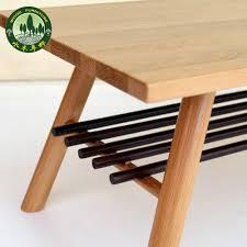 Japanese Style Coffee Table Mizuki Japanese Style Coffee Table In Birch Wood American White