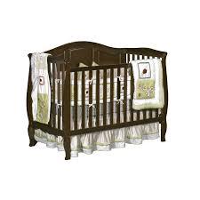 Sleigh Bed Crib Dorel Vintage Estate 3 In 1 Sleigh Crib Espresso
