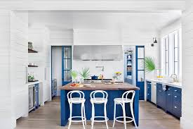 electric blue kitchen cabinets kitchen inspiration southern living