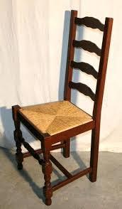 chaise en bois et paille chaise bois paille chaise en bois et paille dossier haut ref 4737