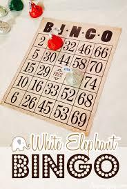 white elephant bingo party aspen jay
