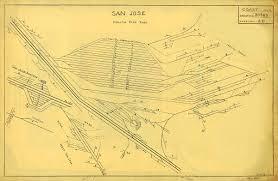 Light Rail San Jose Map by Southern Pacific San Jose Area Maps