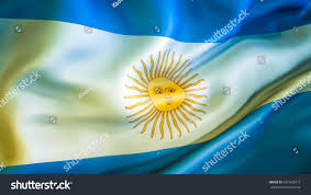 Argentina Flag Photo Argentina Flag 3d Waving Flag Design Stock Illustration 631603973
