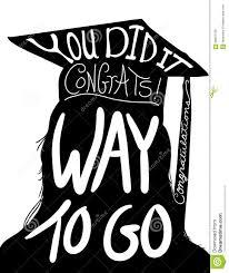 graduation design image congratulations to graduate with cap and