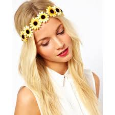 festival headbands flower headband polyvore