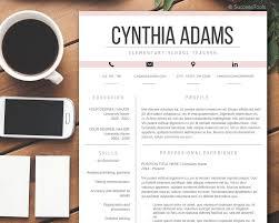 Modern Resume Template Word Teacher Resume Template Modern Resume Template Word Cv