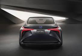 lexus lf lc vision gt redesigned lexus lf fc concept revealed at tokyo motor show news