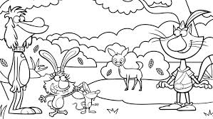 nature scene coloring pages nature cat coloring pages wttw chicago public media