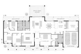 split level open floor plan house layouts australia