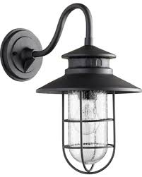 Quorum Wall Sconce New Savings On Quorum Moriarty 15 75 Outdoor Wall Sconce In Noir
