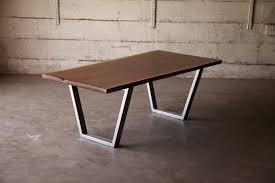 live edge walnut coffee table live edge walnut coffee table with powder coated steel base