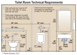 Ada Bathroom Dimensions Brilliant Ada Accessible Bathroom With Handicap Bathroom