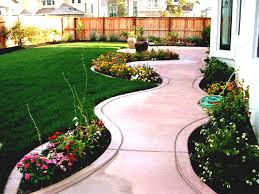 garden design with small front designs easy landscaping ideas for