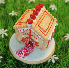 Decoration House by Mini 3d Cookie House Cookie Decorating Youtube
