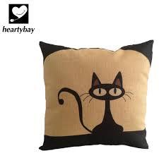 max studio home decorative pillow amazon com heartybay 18 x 18 inch cotton linen decorative throw