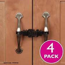 kitchen cupboard door child locks cabinet and drawer locks for babyproofing your home