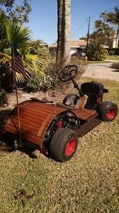 rat rod golf cart custom yamaha gas powered one off golf carts