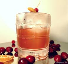 old fashioned cocktail garnish here is your thanksgiving cocktail cranberry añejo old fashioned