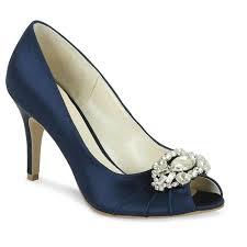 wedding shoes navy credits navy blue bridesmaid dress photo yes my navy fair