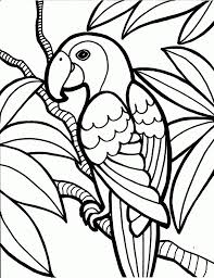 simple coloring pages simple flower coloring pages coloring