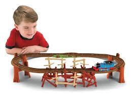 fisher price thomas the train table amazon com thomas the train trackmaster shake shake bridge toys