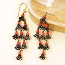 Knitted Chandelier Earrings Pattern 1000 Best Jewellerymaking8 Earrings Ideas U0026 Tutorials 8 Images