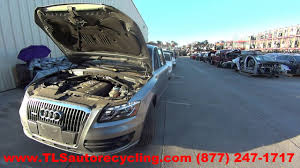 parting out 2011 audi q5 audi stock 6398or tls auto recycling