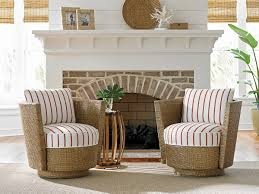 Living Room Swivel Chairs by Twin Palms Tarpon Cay Swivel Chair Lexington Home Brands