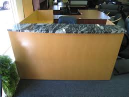 Granite Reception Desk Reception Better Source Liquidators