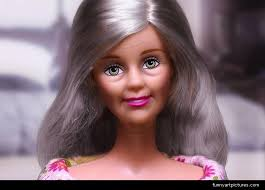 design u0026 fashion aging barbie doll advertising funny picture