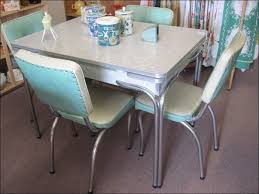 Skinny Kitchen Table by Kitchen 50s Table White Wood Dining Table Pedestal Dining Room