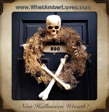 halloween burlap wreath october 2012 what amber loves