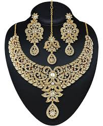 white gold necklace set images Buy graceful white gold necklace set 87479 at 18 82 jpeg