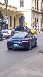 porsche 911 facelift undisguised porsche 911 facelift spotted in prague motor1 com photos