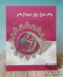 stampin u0027 up musical season bundle with year of cheer paper foil