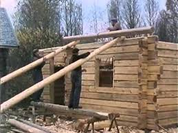 house building traditional log house building process the shelter