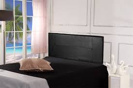 Black Headboards For Double Beds by Black Leather Double Bed Frame 6 Products Graysonline