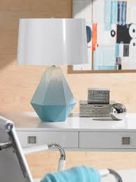 Robert Abbey Table Lamps by Delta Duo Debut Geometric Lamp Designs By Robert Abbey Lamps Plus