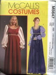 mccall u0027s sewing pattern 5647 women u0027s plus size 18w 24w renaissance