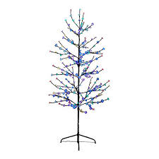 slim christmas tree with led colored lights shop northlight 6 ft pre lit twig slim artificial christmas tree