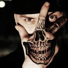 cool hand tattoo designs marshall mathers eminemrepublic twitter skull back of hand