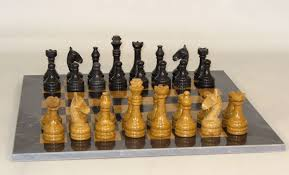 Chess Set Chess Sets From The Chess Piece Chess Set Store Black And Golden