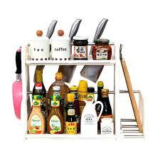 rangement ustensiles cuisine porte ustensile de cuisine meuble a epices yontree atagare